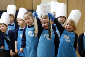Pupils at Welholme Primary in Grimsby launch new Seafish schools initiative